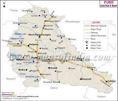 map ot pune district map