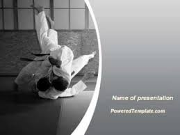 martial arts powerpoint template karate powerpoint template free