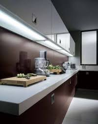 Strip Lighting For Under Kitchen Cabinets Good Looking Strip Shape Led Lights Under Kitchen Cabinets With