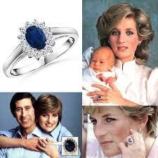diana engagement ring royal princess diana sapphire engagement ring jpg