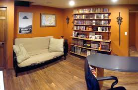 Wall Decor For Man Cave Basement Interesting Man Cave Basement Design Ideas With Grey