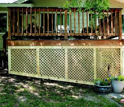 deck skirting quick and easy in 5 steps quarto homes