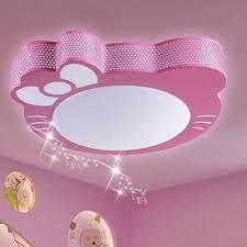lustre pour chambre fille lumière de bande dessinée les plafonniers led pour enfants chambre