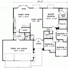 one house plans with 4 bedrooms one open floor plans with 4 bedrooms generous one 4bedroom