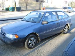 hyundai excel 1 5 1986 auto images and specification