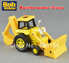 free shipping brand bob builder diecast backhoe loader