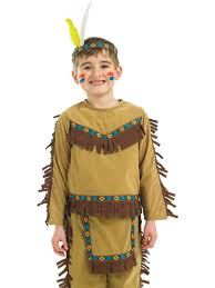 child indian chief costume fs2983 fancy dress ball