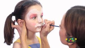 bunny face paint tutorial youtube