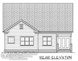 Arts And Crafts Bungalow House Plans 3 Garage 2 Edg Plan Collection