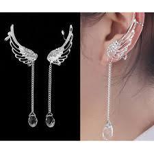 angel wing earrings angel wing earrings ebay