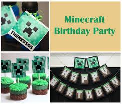 minecraft cupcake ideas minecraft birthday party ideas vs the boys