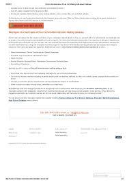 high school senior mailing list school administrators email lists