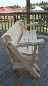 folding benches foter