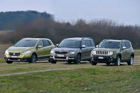 jeep suzuki 2016 2015 jeep renegade vs 2015 skoda yeti vs 2015 suzuki sx4 youtube