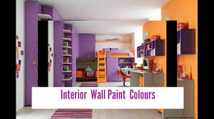 interior wall paint colours youtube