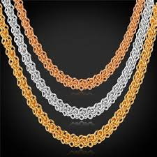 real gold chain necklace images Gold chain u7 jewelry jpg