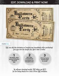 office depot invitations printing halloween invitations halloween ticket invitations halloween
