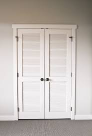 Lowes Louvered Closet Doors Brilliant Decoration Louvered Sliding Closet Doors Bathroom