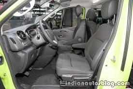 opel vivaro 2017 opel vivaro life front seats at iaa 2017 indian autos blog