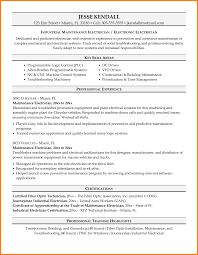 exles of electrician resumes industrial electrician resume sle apprentice exles cosy format