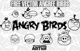 imagenes vectoriales gratis vectoriales gratis sketch angry birds descargar vector