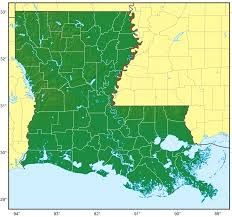 Maps Of Louisiana Louisiana Population Map 1 U2022 Mapsof Net