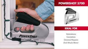 Upholstery Electric Staple Gun Powershot Forward Action Staple Gun U0026 Nailer Youtube