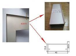 Kitchen Cabinet Door Profiles Aluminum Frame Profile For Kitchen Cabinet Door Sl6116a View