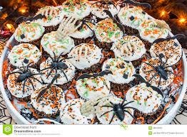 decorative halloween themed cupcakes stock photo image 58526482