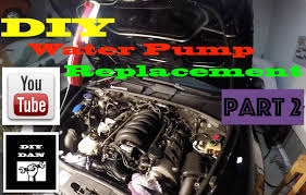 Porsche Cayenne Coolant Pipes - how to change a water pump on a porsche cayenne 2 2 youtube