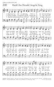 the united methodist hymnal 240 hark the herald angels sing