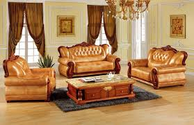 Luxury Leather Sofa Luxury European Leather Sofa Set Living Room Sofa Made In China
