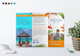 tri fold brochure template free download 12 free download travel brochure templates in microsoft word