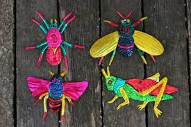 mexican tin ornaments folk milagros collection on ebay