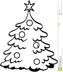 christmas tree animation black and white