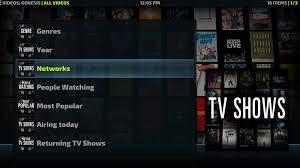 5 alternatives to genesis for tv shows best for kodi