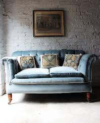 Chesterfield Sofa History by A Pretty Button Back Velvet Drop End Chesterfield Sofa C 1900