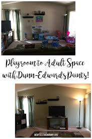 playroom to space makeover with dunn edwards paints me