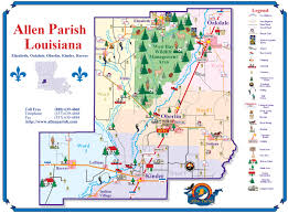 New Orleans Attractions Map by Plan Your Trip U2013 Allen Parish