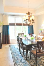 banded drapes in my dining room evolution of style