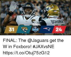 Jaguars Memes - jaguar jag final 31 preseason final the get the w in foxboro