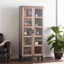 Curio Cabinets Living Spaces Display Cabinets You U0027ll Love Wayfair