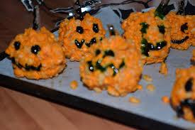 Asda Halloween Cakes Halloween Pumpkin Krispie Cakes U2013 U2013 Elle Hache U2013