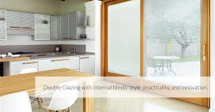 double glazing with internal blinds style practicality and