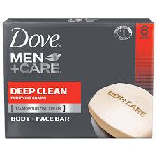 amazon com dove men care body and face bar deep clean 4 oz 8