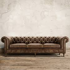 Tufted Leather Sofas Wessex 109 Leather Tufted Sofa In Bronco Whiskey Tufted Leather
