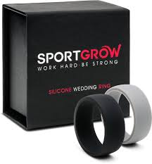 rubber wedding rings wedding rings new rubber wedding rings for men look charming and