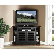 black corner tv cabinet with glass doors displaying gallery of black corner tv cabinets with glass doors