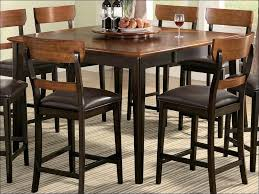 kitchen breakfast table set 9 piece counter height dining set