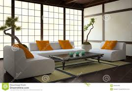 interior in japanese style stock photo image 25933160